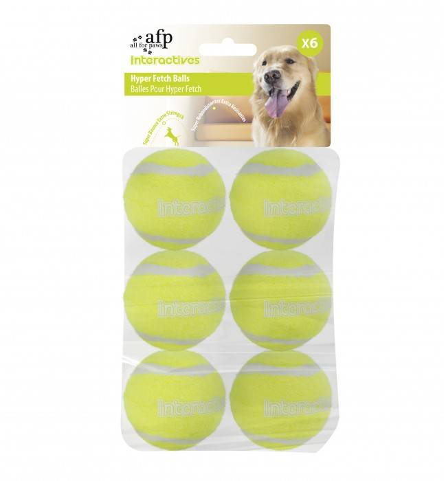 All for paws All for Paws (AFP) - Interactive Hyper Fetch ballen 6 stuks