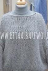 Patroon oversized trui