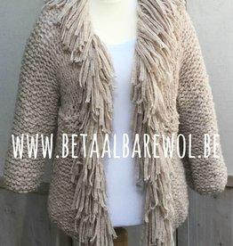 Explication veste à franges - Puno