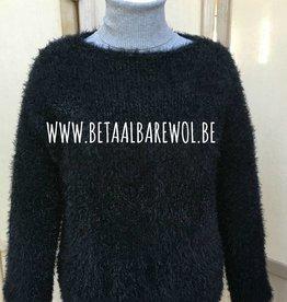 Patroon trui T-model die niet prikt