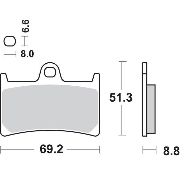 SBS Dual Carbon - 634DC