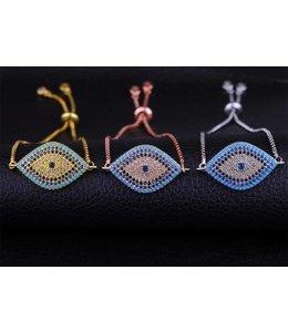 TheFashionSider Evi Eye Armband