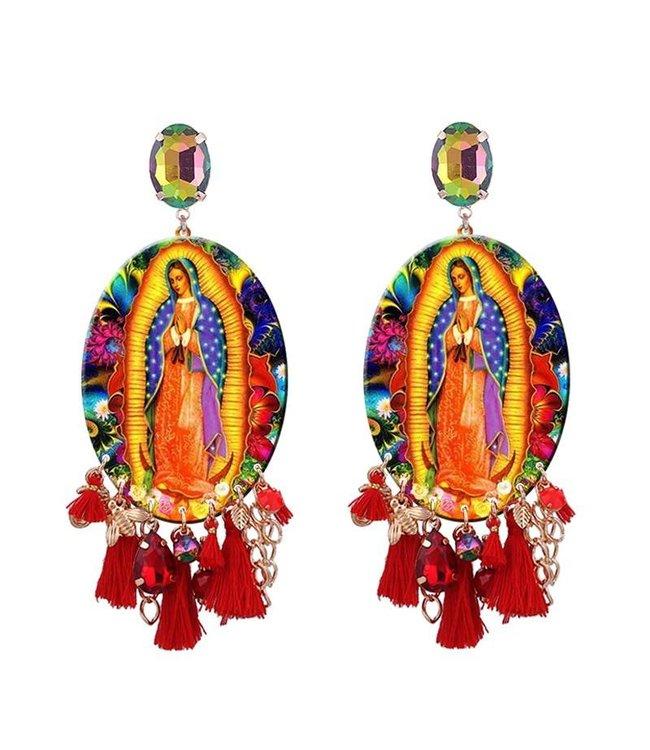 TheFashionSider Carmen Tassel Earrings