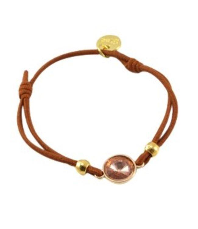Mix & Match armbandje bruin