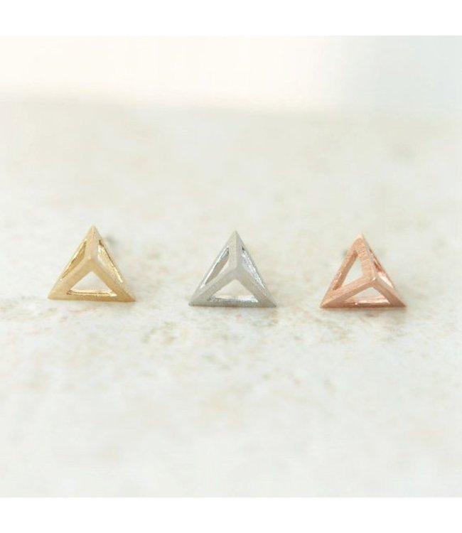 'Triangle' Oorbellen
