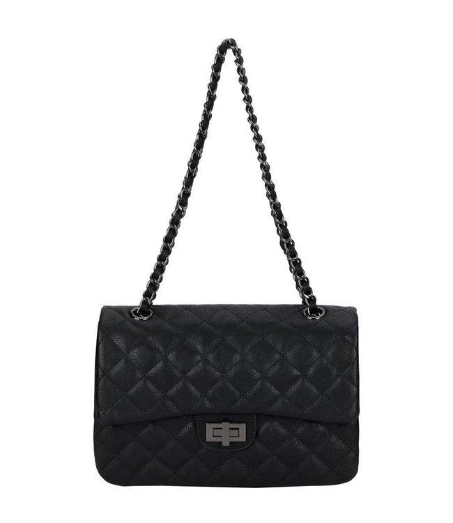 Diana&Co Zwart tas van eco-leather.