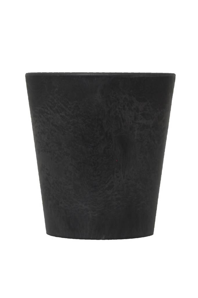 Artstone pot Black stone