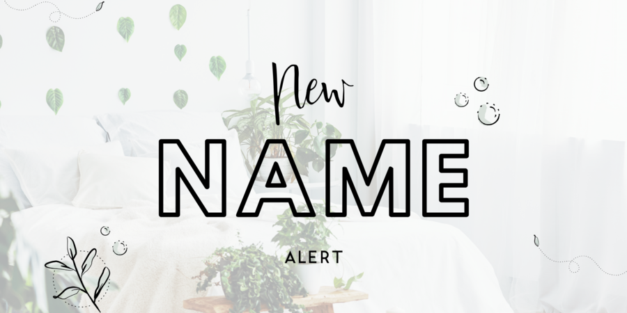 Psst... wat vind jij van onze nieuwe naam?