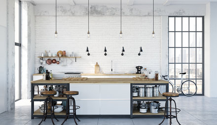 Must-haves for an industrial interior