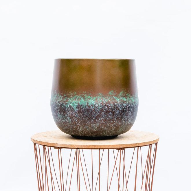 Green Bubble Topf Elisa mystisch bronze