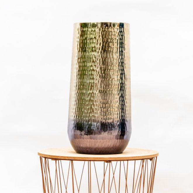 Green Bubble Vase Jenna gold