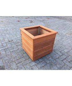 Plantenbak | Hardhout | 50x50x50