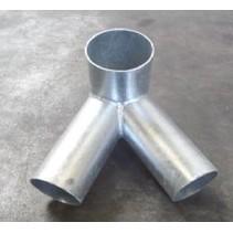 Schommelverbinding   120x100x100mm   60 graden   090
