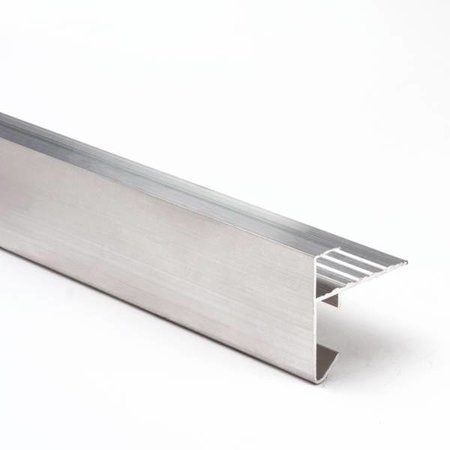 Aluminium daktrim | 35x45mm | 2.50m