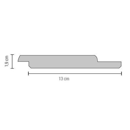 Channelsiding Rabat   Accoya   19x145mm   4.80m