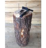 Spijkerblok   compleet met hamer/spijker