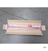 Duikelstang met bevestigingsset | Rood | 90cm