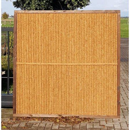 Kokosscherm in houten frame   180cm