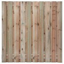 Tuinscherm Enschede | 180x180cm | 21 planks | RVS
