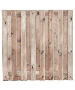 Tuinscherm Coevorden | 180x180 | 17 planks | RVS