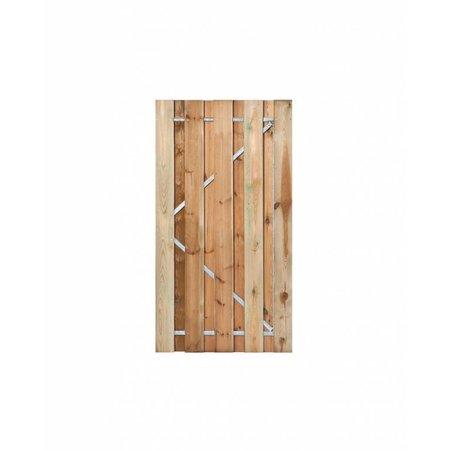 Poort Grenen |  frame + RVS cilinderslot | celfix