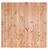 Tuinscherm Zwarte Woud | Douglas | 180x180cm | 21 planks