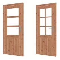 Douglas  deur met glas | 86,4cm x 200,1cm