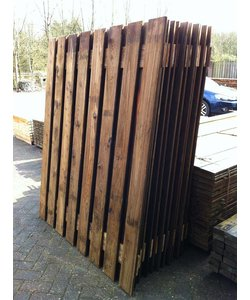 Tuinscherm Utrecht | Douglas | 180x180 | 19 planks | celfix