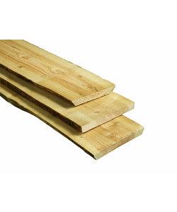 Grenen boomstam plaat | 2.00m | 35x300-350mm - G30