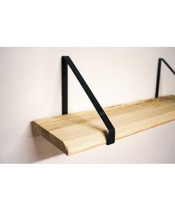 Plankdrager Driehoek + Wandplank Grenen