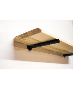 Plankdrager Rond + Wandplank Grenen