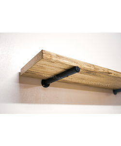 Ronde Plankdrager + Wandplank Beuken
