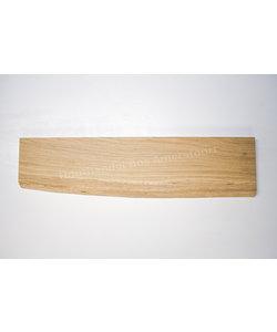 Eiken wandplank | 120cm