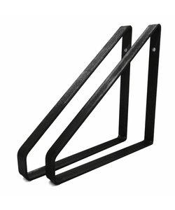Plankdrager Driehoek | Zwart