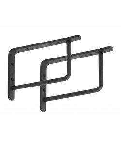 Plankdrager Rechthoek | Zwart