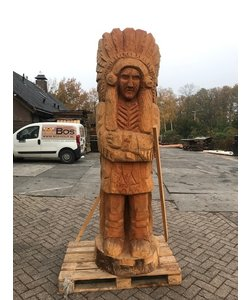 Indiaan Chief/Opperhoofd | Douglas | 240cm | ø50-55cm