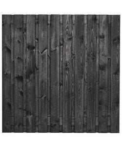 Tuinscherm Stuttgart | 180x180cm | 21 planks | RVS