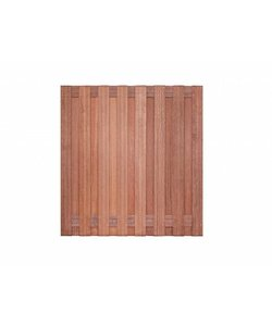 Tuinscherm hardhout | Kampen | 180x180cm