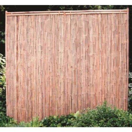 Bamboescherm Dicht | 180x180 | 30mm