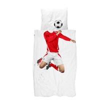 Snurk Soccer 140x200/220 red