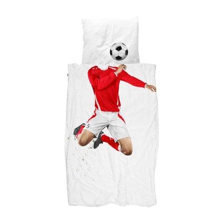 Snurk Snurk Soccer 140x200/220 red