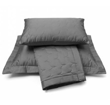 Vandyck Bedspread SATIN 180x260 Anthracite