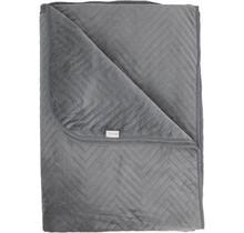 Yellow bedsprei Zion 270x260 grey
