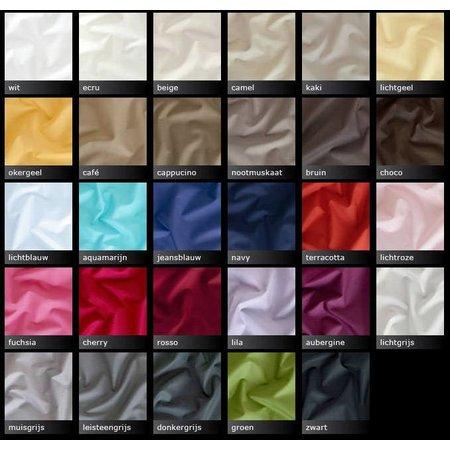 Personal Sleep percal-katoen hoeslaken - kies uw kleur en maat