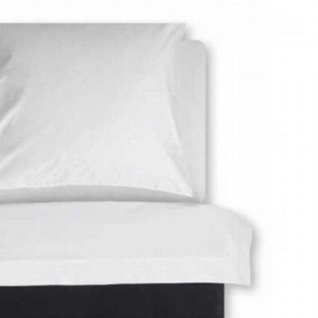 Vriendelijk geprijsd Laken percal-katoen 160x270 wit