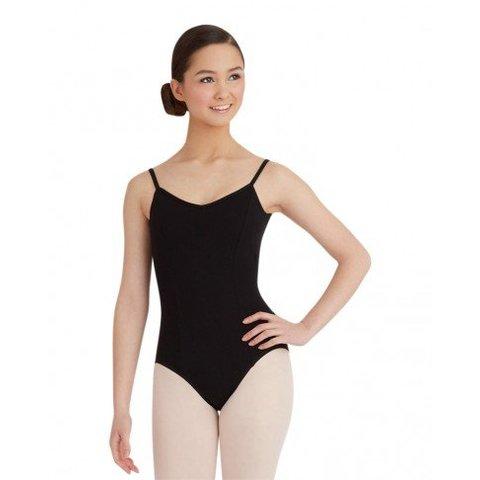 CC101 Balletpakje Katoen Zwart