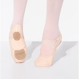 Capezio Hanami canvas 2037W  Stretch balletschoen Roze