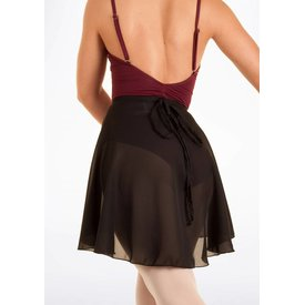 Capezio 260 Full sweep wrap skirt