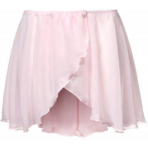 PA3070 Voile Overslag  Balletrokje Roze
