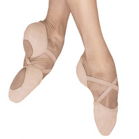 ES0251L Elastosplit X Canvas Balletschoenen Gespleten zool